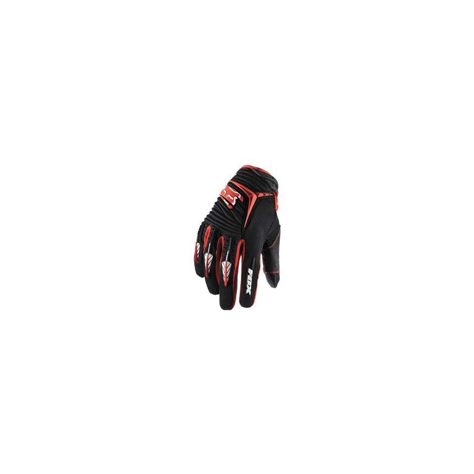 Fox Racing Blitz Gloves   XX Large/Black/Red