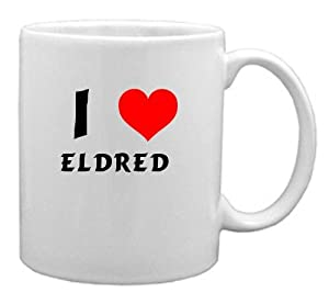 I Love Eldred Coffee Mug (first name/surname/nickname)