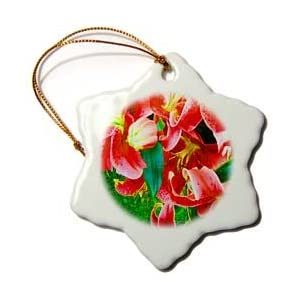 Yves Creations Lilies Prints - Christmas Lilies - Ornaments