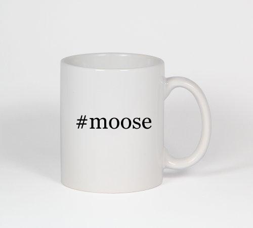 #Moose - Funny Hashtag Ceramic 11Oz Coffee Mug Cup