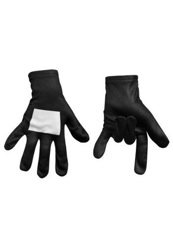 [Ultimate Black Suited Spider-Man Child Gloves (Standard)] (Black Suit Spiderman Costume)