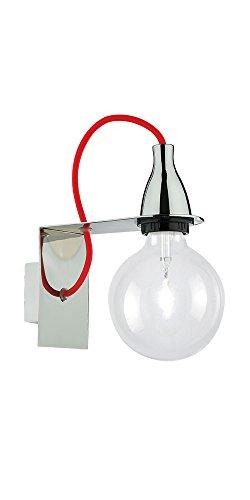 Ideal Lux Minimal AP1 Lampada, Cromo