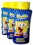 3-Pack Nickelodeon SpongeBob SquarePants Body Wash - Berry Splash - 12 fl oz (355 ml) - 1
