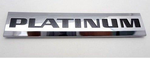 [해외]캐딜락 Dts 플래티넘 상징/Cadillac Dts Platinum Emblem