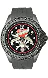Ed Hardy Techno Black Dial Unisex watch #TE-BK