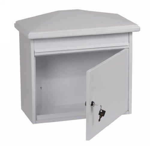 Safewell LIBRO 90028W Key Locking Front-Loading Mail Box