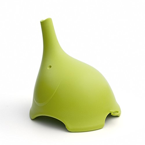 8 mm, in acciaio INOX, imbuto per tutti i Hip Flasks-Fiaschetta, tappo per bottiglie di vino, Verde
