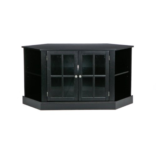 SEI Thomas Corner Media Stand, Black