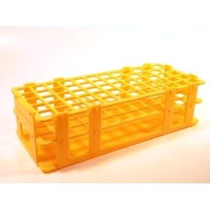 SEOH TEST TUBE RACK PLASTIC For 60 tubes 16mm: Science Lab