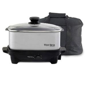 Digital Slow Cookers: New - WB 5 Qt. Oblong Slow Cooker by Focus Electrics - 84915