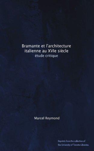 Bramante et l'architecture italienne au XVIe siècle: étude critique (French Edition) футболка bramante