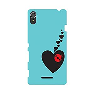 Phone Candy Designer Back Cover with direct 3D sublimation printing for Sony Xperia T3