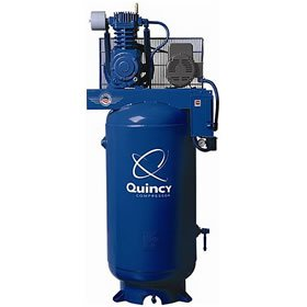 Quincy 7.5-HP 80-Gallon Two-Stage QT Pro Air Compressor (230V 1-Phase) - 271CS80VCB