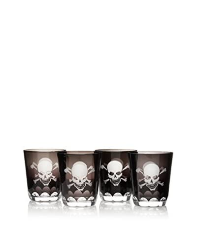 Set of 4 Skull Cups