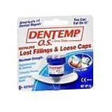 Dentemp O.S. Dentemp O.S. One Step Filling Dental Repair Material Maximum Hold, 1 each (Pack of 2)
