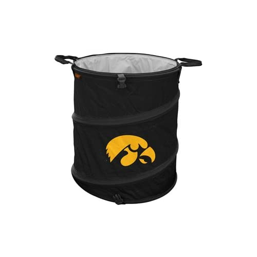 Where to find Iowa Hawkeyes Black Collapsible Storage Can/ Cooler