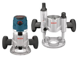 Buy Discount Bosch MRC23EVSK 2.3 HP Combination Plunge & Fixed-Base Variable Speed Router Pack