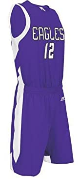 Russell Athletic 2B7DPXK Women's Full Coverage Game Uniform (Blank Jersey) (Call 1-800-327-0074 to order)
