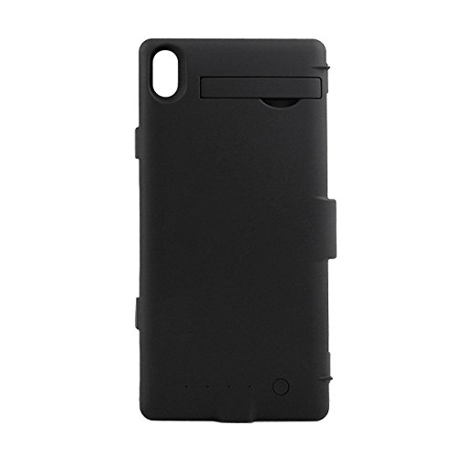 Ultra ? Black Non flip cover Sony Xperia Z3 3200 mAh External Rechargeable Battery Backup Power Case Cover in Black colours charging Pack Non Flip