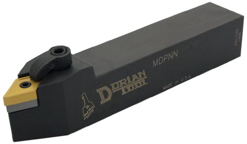 Dorian Tool MDPN Square Shank Multi-Lock Turning Holder, Neutral Cut, 1-1/4
