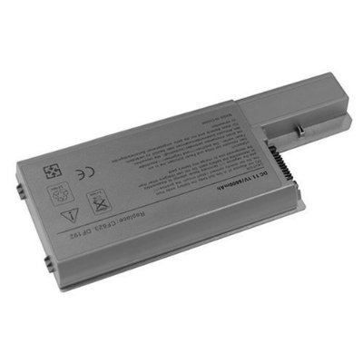 GSI Wonderful Quality Replacement Laptop Computer Li-Ion Battery - 7200mAh, 11.1v, 9Cell, Surprisingly Long-Life - For Dell Latitude D531, D531N, D820, D830 & Precision M65 - Functions Literally as OEM Part Number CF623, CF632, YD623, YD624...