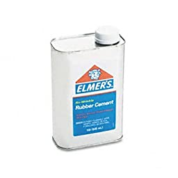 Elmer\'s® Rubber Cement ADHESIVE,RBR CMNT,32OZ 50205900 (Pack of8)