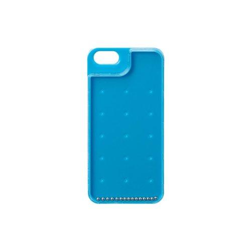 ELECOM iPhone 5用 シェルカバー ゲームケース ドロップボール ブルー PS-A12PVGM1