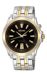 Seiko Perpetual Calendar Black Dial Men's watch #SNQ120