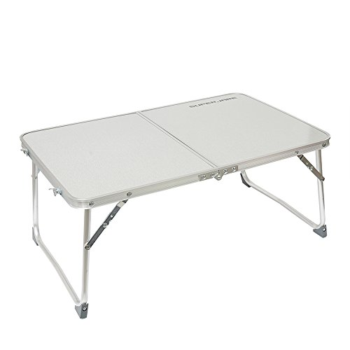 Superjare Folding Laptop Desk Breakfast Table Bed Tray Silver (Study Tray compare prices)