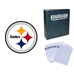 Pittsburgh Steelers Football Cards w  Collector