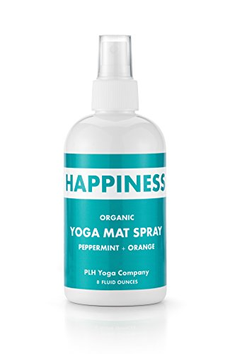 PLH-Yogas-Organic-Yoga-Mat-Cleaning-Spray-Happiness-Peppermint-Orange-8-Fluid-Ounces