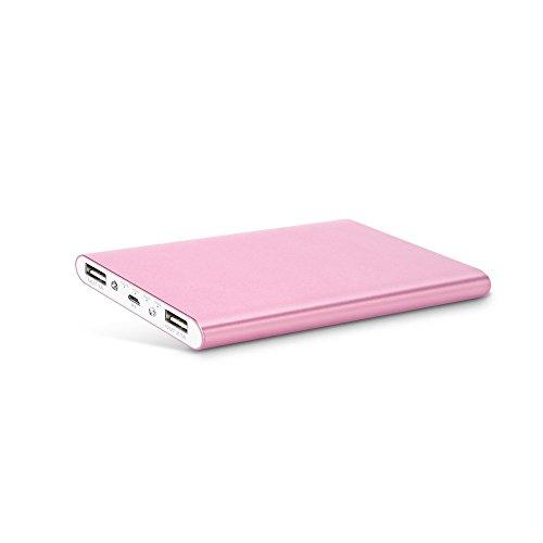 Mabox M20000 モバイルバッテリー 大容量 スマホ急速充電器 12000mAh 2USBポート iPhone6/iPhone6s/iPhone5 5s 5c/iPod/iPad/Xperia/Nexus/Sony等対応(ピンク)