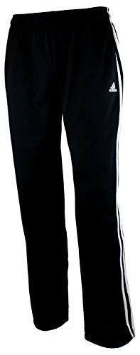 Adidas Boys Athletic Pants Large Black & White,XL-18