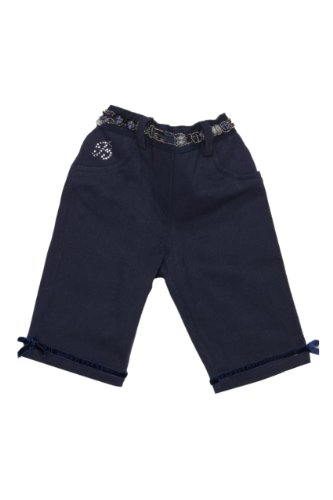 Blumarine Pantaloni , bambina, Colore: Blu Scuro, Taglia: 50