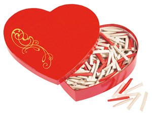 Liebes-Geschenke: Love Heart - Herzbox - der Liebesbeweis mit Überraschung (Jeder Tag - neue Botschaft)