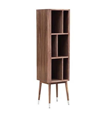 Kardiel Elroy Vertical Cabinet, Walnut