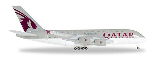 Herpa Wings 1 / 500 A380 Qatar Airways A7-APB (Qatar Airways Model compare prices)