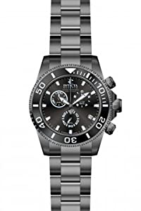 Invicta 12109 Pro Diver Quartz Chronograph Black Dial Watch