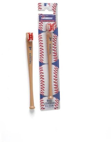 Texas Rangers Mlb Baseball Bat Toothbrush By Pursonic (24 Pack) [Misc.] at Amazon.com