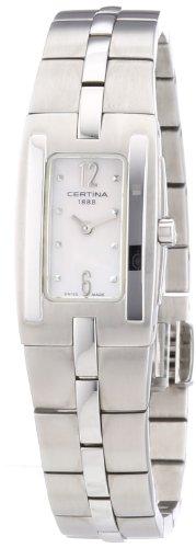 Certina Women's Quartz Watch DS Mini Donn C002.109.11.117.00 with Metal Strap