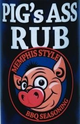 Pig'S Ass Rub Memphis Style BBQ Seasoning 12.25Oz Bottle (Pack Of 3)