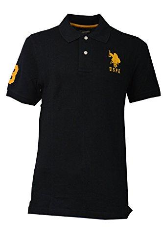 marchio-us-polo-assn-uomo-normale-ricamata-manica-corta-t-shirt-in-cotone-100