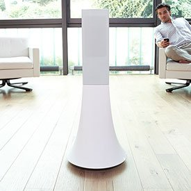 Parrot PF551230 Solo Zikmu Tower Speaker By Starck (White)