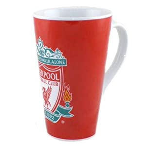 Liverpool FC Latte Mug - Football Gifts by Official Football Merchandise