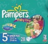 Pampers Baby Dry 5 Junior 28