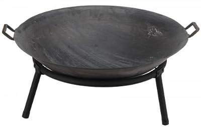 Ambiance Metal Outdoor Garden Patio Large Fire Bowl Pit Firepit Firebowl Basket