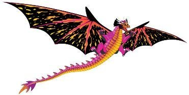Fantasy Fliers Dragon Kite