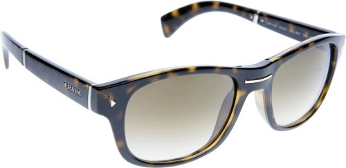 prada Prada 14OS 2AU0B3 Tortoise 14OS Folding Wayfarer Sunglasses Lens Category 2