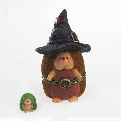 Boyds Bears Hedgehog Treasure Box - Witchley Hallowhedge