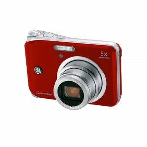 "GE A1251 12.2 Megapixel Digital Camera with 5x Optical Zoom 2.5"" LCD"